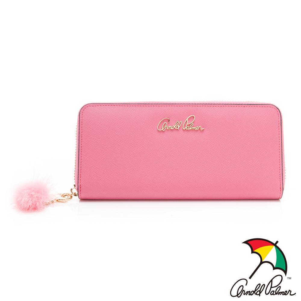 Arnold Palmer ㄇ拉長夾 Pinky系列-粉色