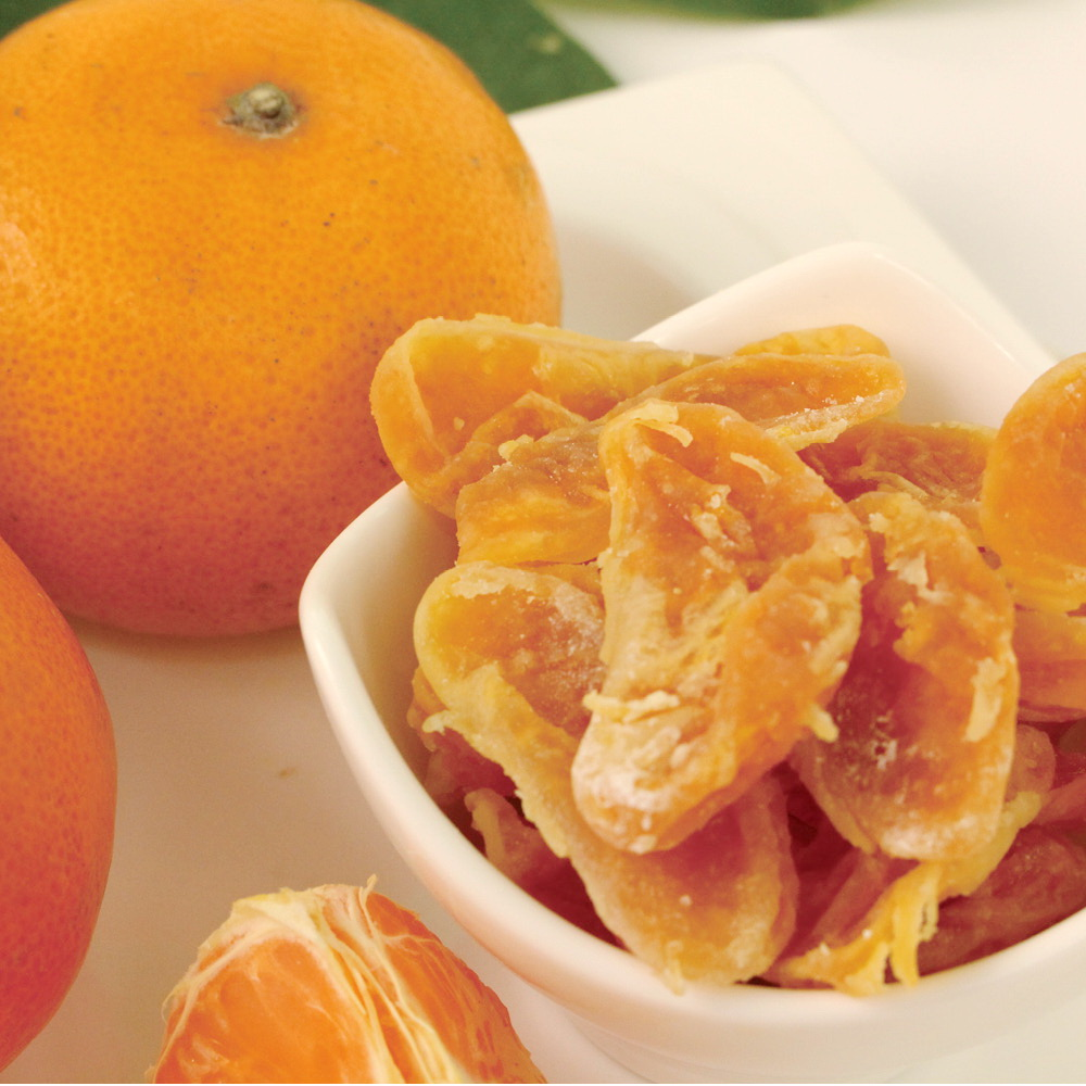 蔥媽媽 橘子水果乾禮盒(65gx4包)