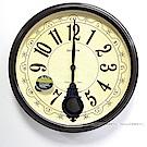 RHYTHM日本麗聲 立體數字西敏寺報時大氣掛鐘/51cm