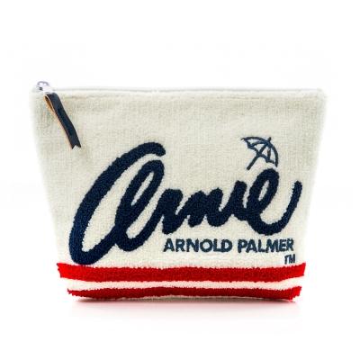 Arnold Palmer- 大化妝包 AMIE-Colorful系列-白色
