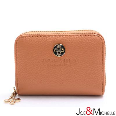 JOE-MICHELLE-真皮漾彩甜心多層卡夾包