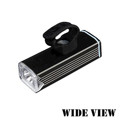 【WIDE VIEW】泛光廣角腳踏車頭燈組( NTL-CD2-P)