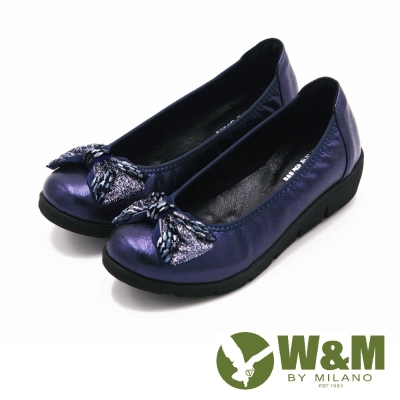W&M 閃亮水鑽厚底娃娃鞋 女鞋-藍(另有黑)