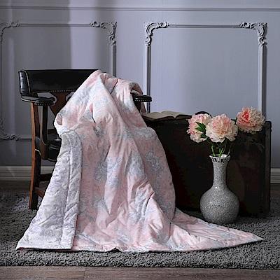BBL浪漫花舞100%精梳棉.印花傳統單人涼被