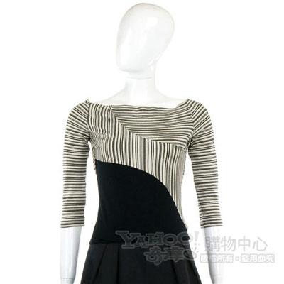 KENZO-antonio marras 黑白條紋造型上衣