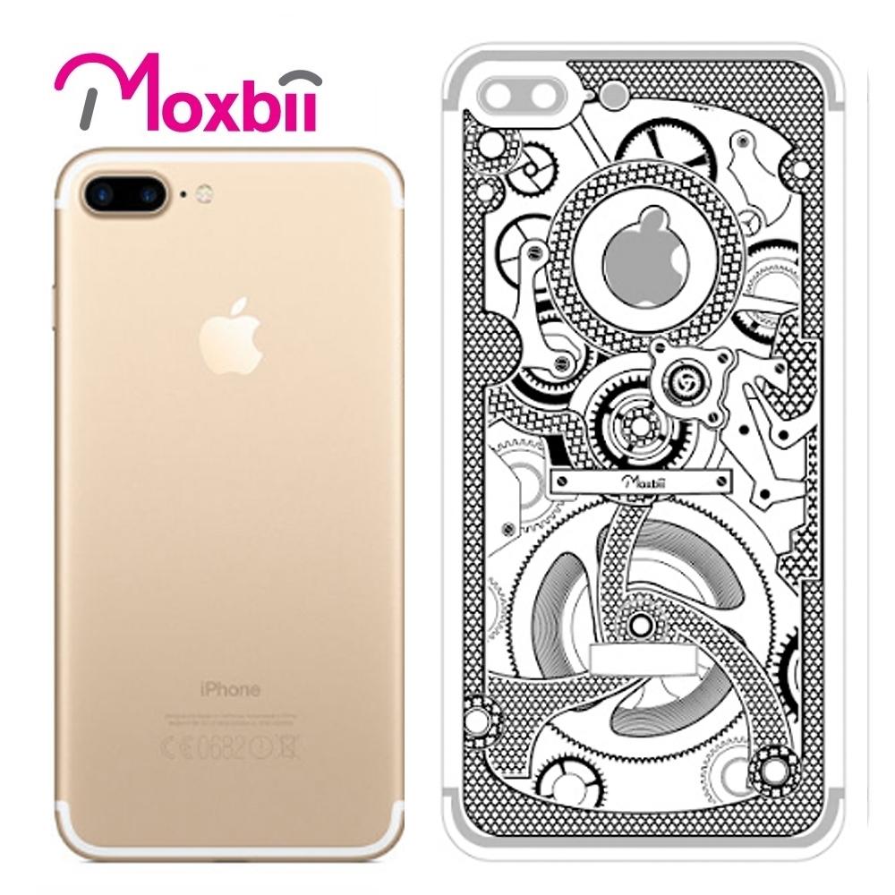 Moxbii iPhone 7 Plus 5.5吋太空盾光雕系列背面保護貼-匠心工藝