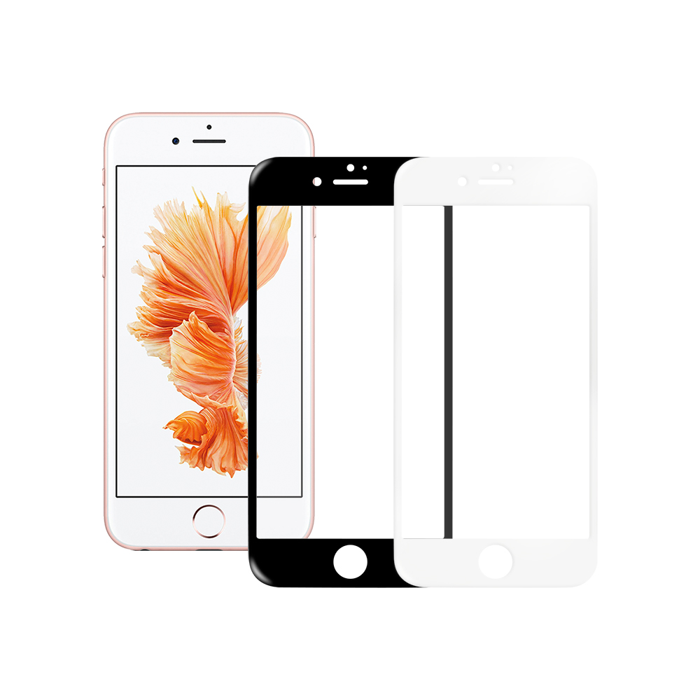 LUCCIDA Apple iPhone 6/6S 9H鋼化玻璃貼【3D滿版】