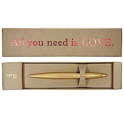 (含刻字)ARTEX life開心中性鋼珠筆All you need is LOVE.