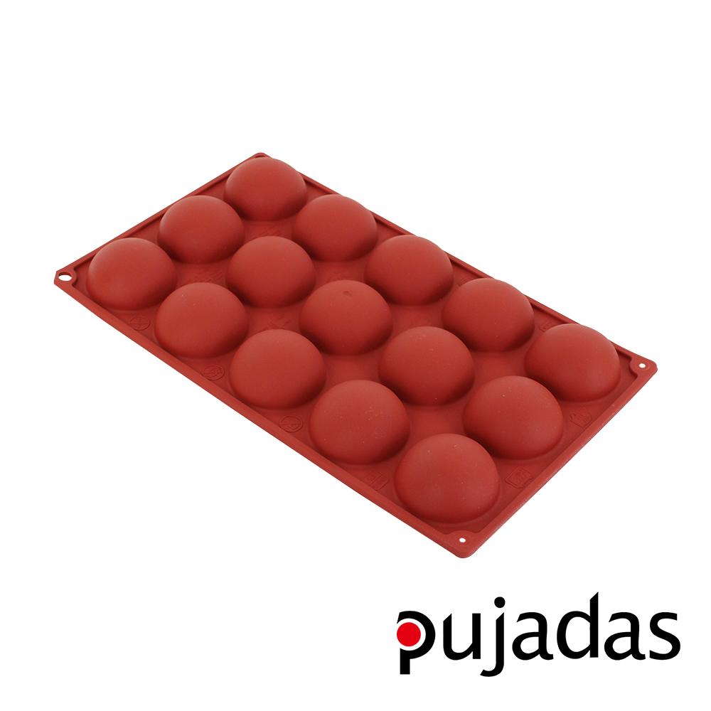 西班牙pujadas矽膠15格點心膜(半球型)-大