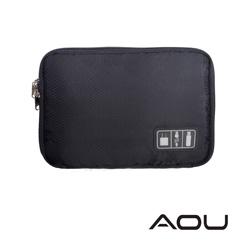 AOU 旅行配件萬用包 配件數據線 充電器 隨身碟 耳機收納包(多色任選)66-042