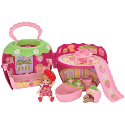 TAKARA-TOMY-莉卡配件-莉卡寶貝草莓屋組