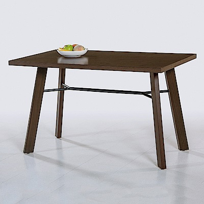 AS-迪克胡桃餐桌-120x75x75cm