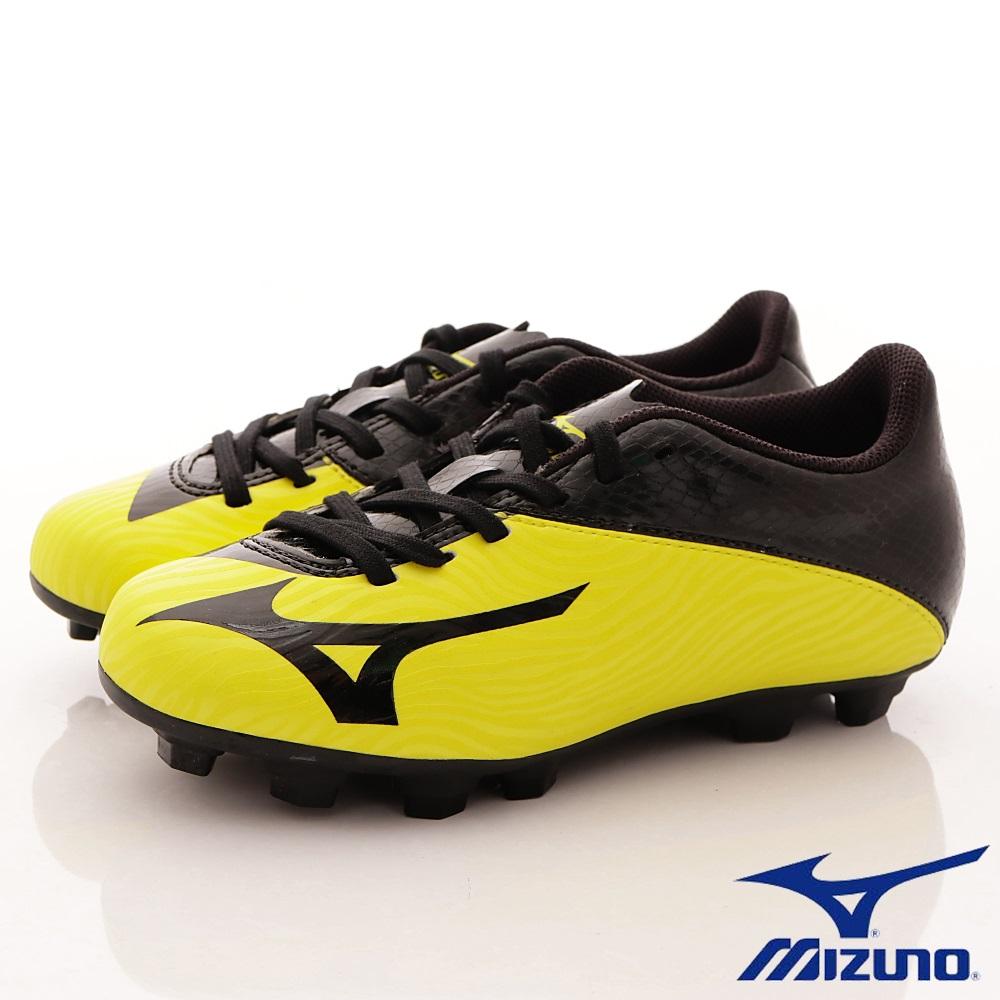 MIZUNO童鞋 MORELIA NEO足球鞋166409黃黑(中大童段)