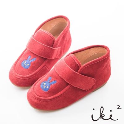 iki 2 童鞋-咕妮兔冒險系列復古休閒鞋-奇幻紅
