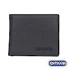 OUTDOOR-TRENDY品味時尚系列-零錢短夾-黑-ODS17C03BK