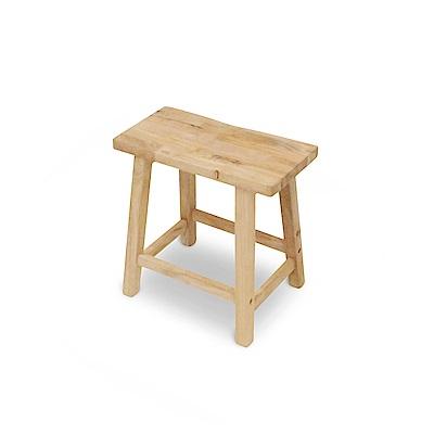 諾雅度-原生實木椅/實木凳-寬45深32高45坐深23cm