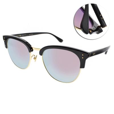 NINE ACCORD太陽眼鏡 韓系眉框/黑金-粉水銀灰#CARDINAL-CS C02