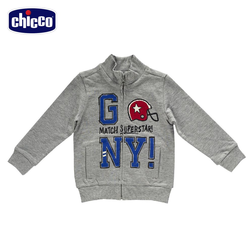 chicco運動外套-灰(18個月-4歲)