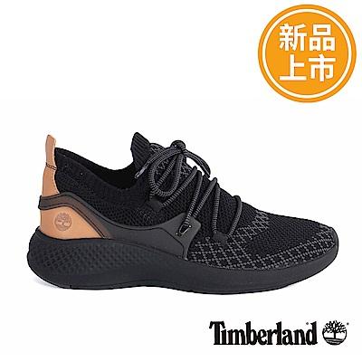 Timberland 男款FlyRoam Go黑色皮革飛型鞋