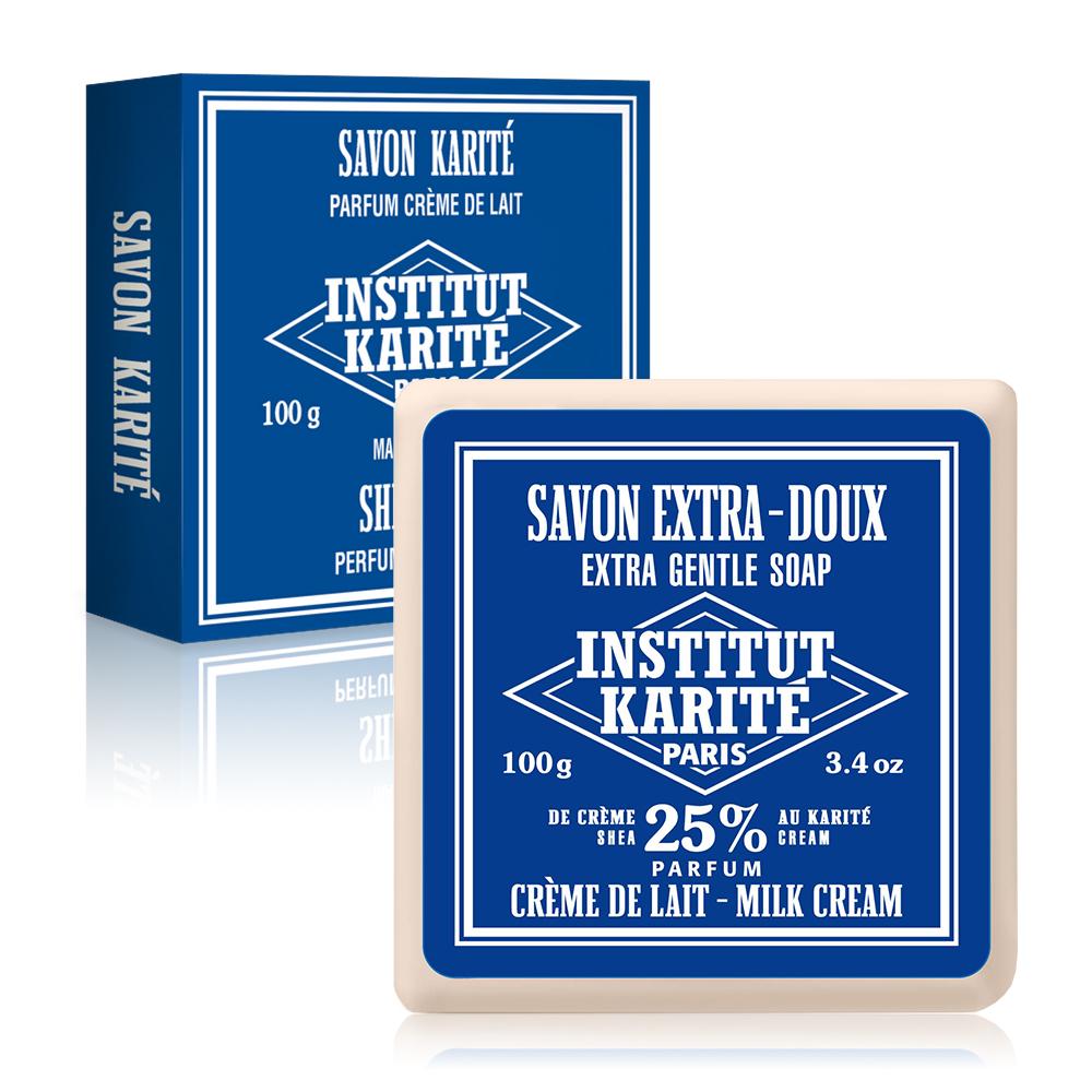 Institut Karite Paris巴黎乳油木牛奶乳霜皂 100g