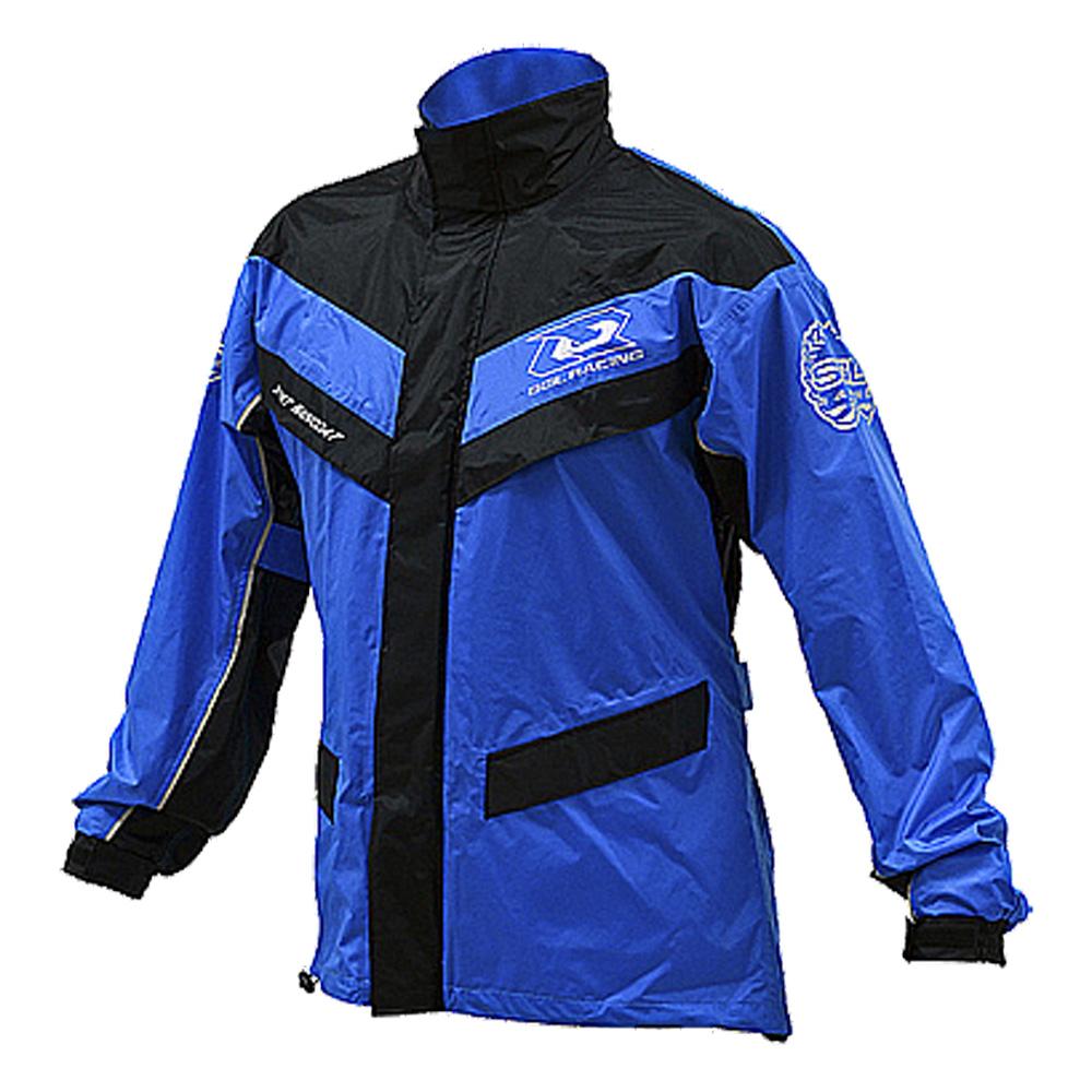 SOL SR2 兩件式運動型雨衣 (藍黑)