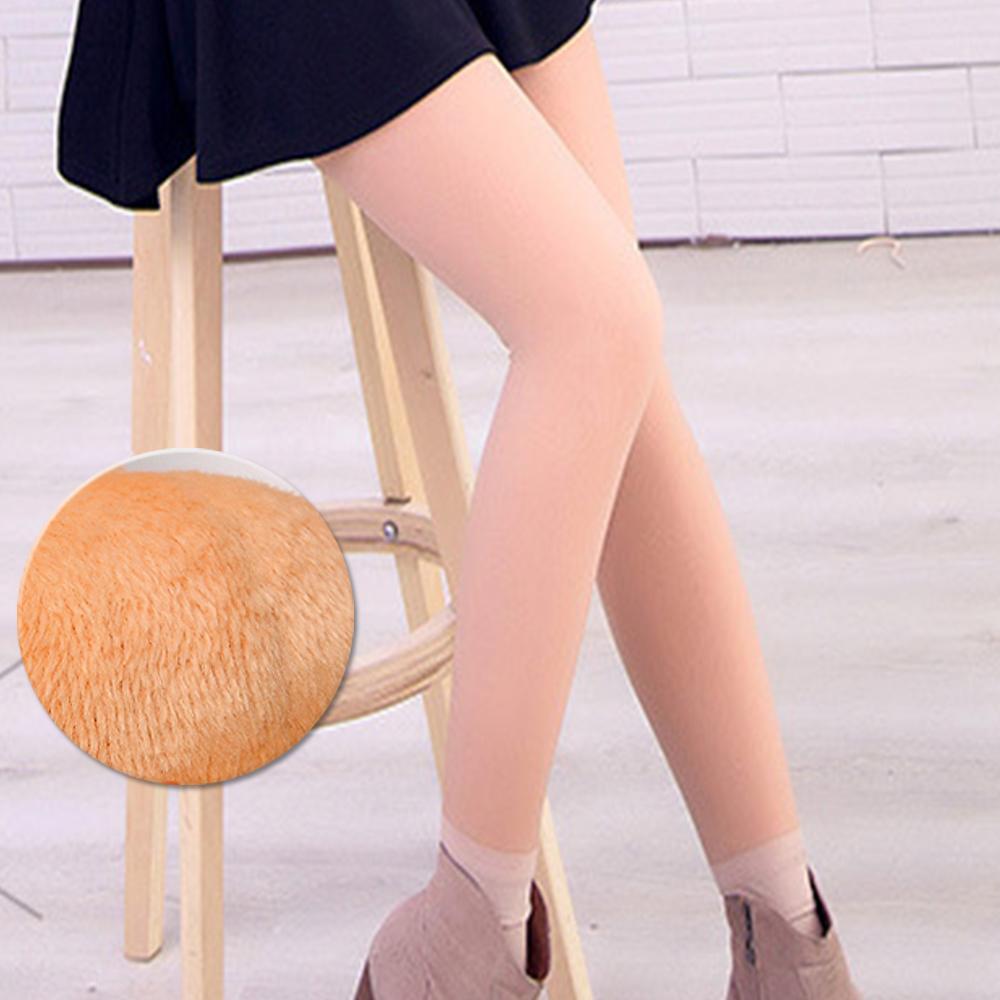 褲襪 光腿神器 韓國假透膚超顯瘦厚絨亮腿 亮腿膚 ThreeShape