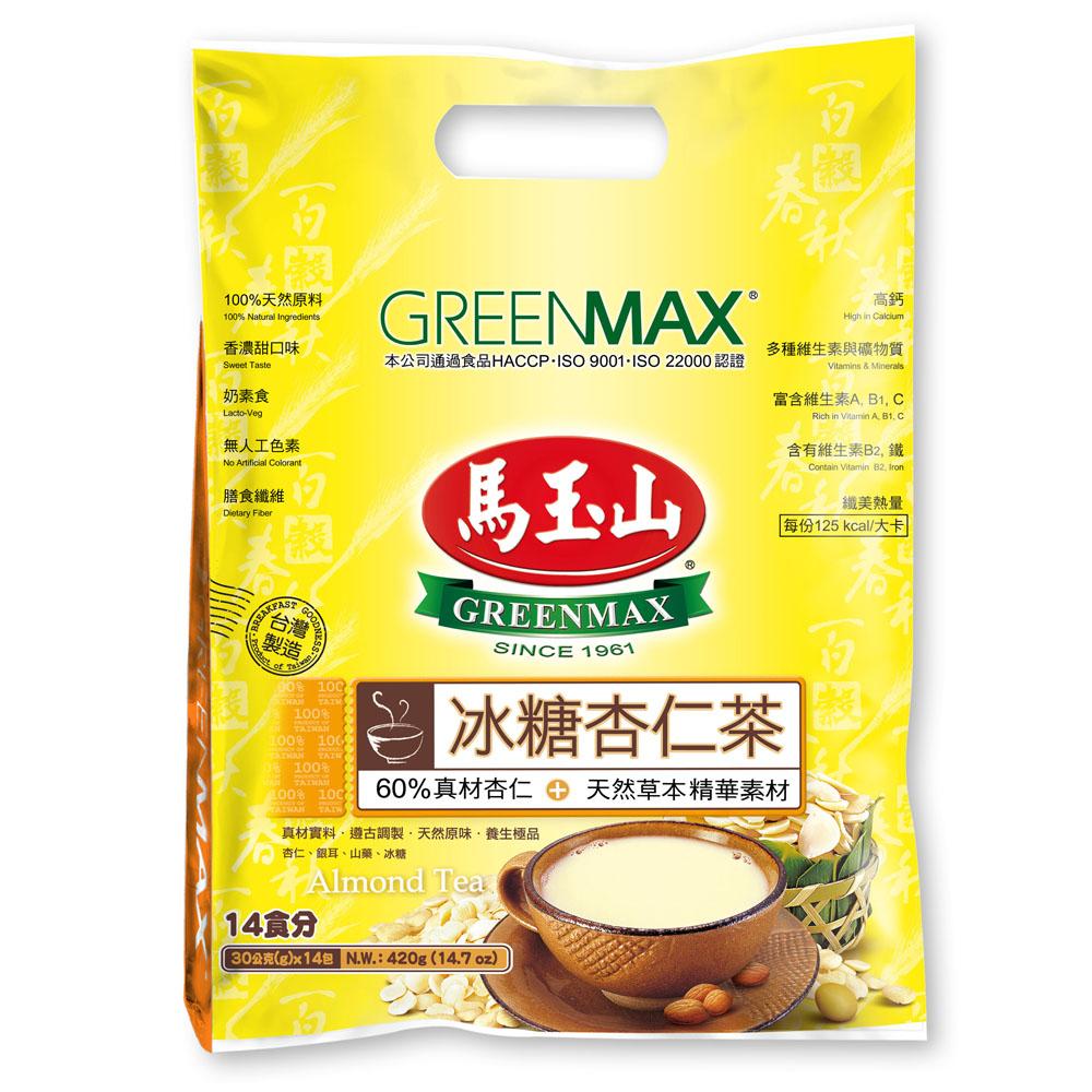 馬玉山 冰糖杏仁茶(30gx14包)