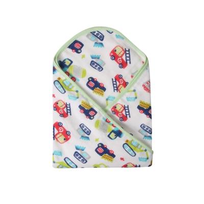 baby童衣 新生兒包巾 雙層紗布棉印花包 51032