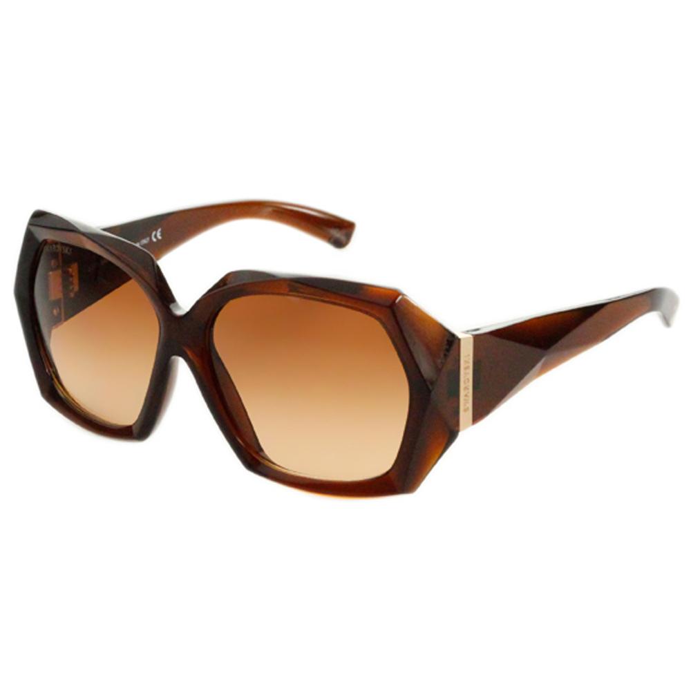 SWAROVSKI-時尚太陽眼鏡(咖啡色/黑色)SW1