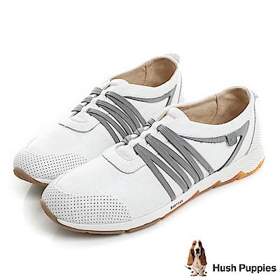 Hush Puppies CESKY 機能健走鞋-白色