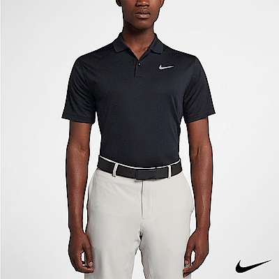 Nike Golf Polo 男 短袖翻領運動上衣 黑 891858-010