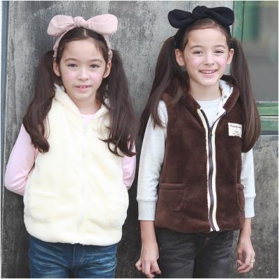 baby童衣 超厚兒童連帽式保暖背心 50770