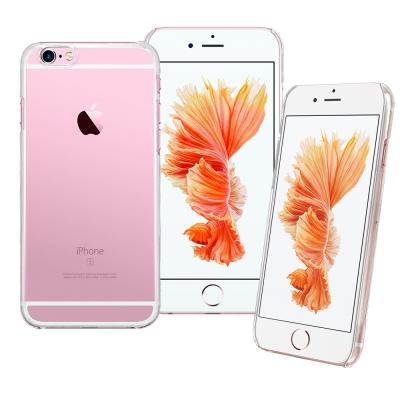 LUCCIDA Apple iPhone6/6s 全透明加強抗刮硬式保護殼