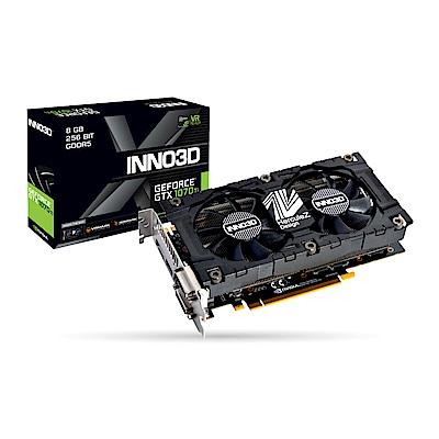 映眾顯示卡 INNO3D GeForce GTX 1070Ti Twin X2