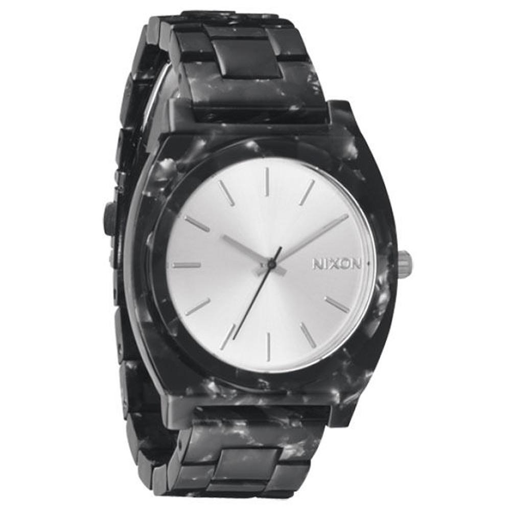 NIXON 絕代風華時尚玻麗腕錶(黑)-40mm