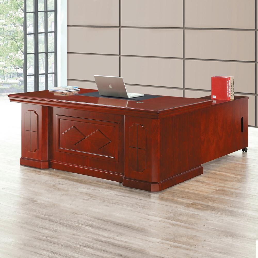 Boden-巴克爾主管辦公桌組合(辦公桌+側邊櫃+活動櫃)-176x90x76cm