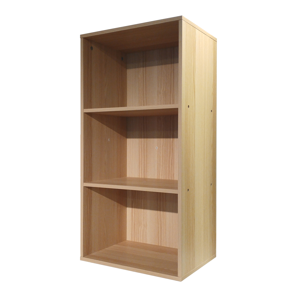 悅家居 空間大師三格置物櫃-40x29x80cm