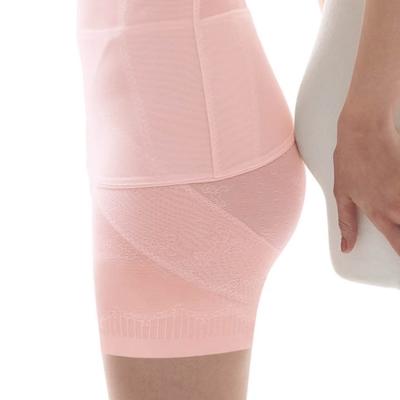 瑪登瑪朵  輕生活•好酷塑  輕機能高腰短管塑腹提臀褲(嫩透粉)
