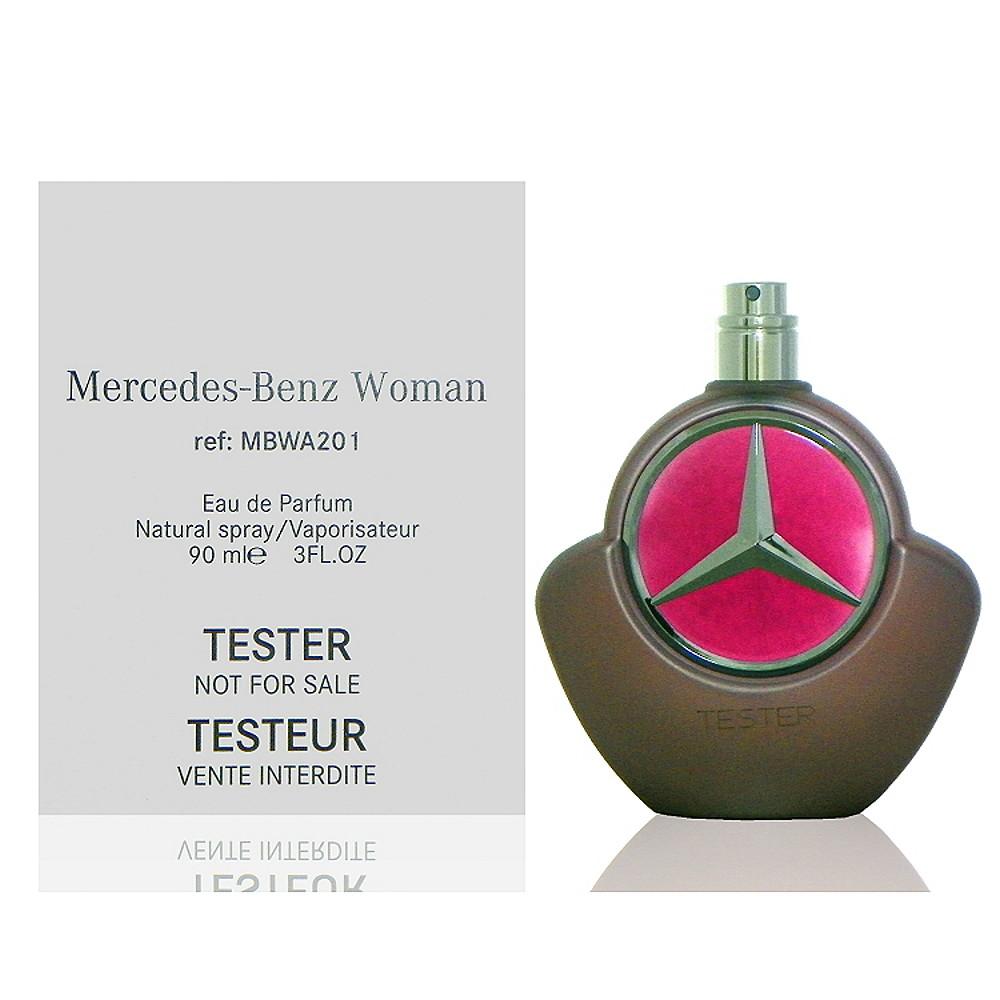 Mercedes Benz 爵色佳人淡香精 90ml Tester 包裝