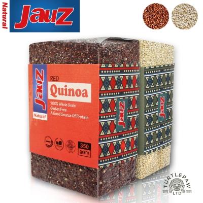 JAUZ喬斯 紅白藜麥絕配組QUINOA (350公克*2包)