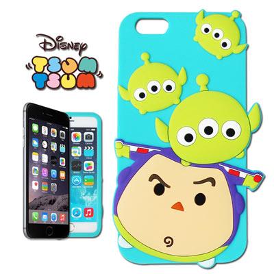 Tsum Tsum迪士尼 iphone 6 /6s 立體手機殼 (三眼+巴斯)