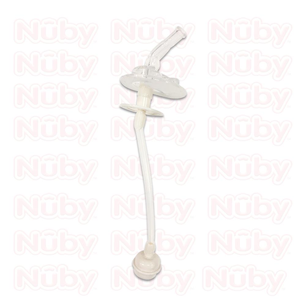 Nuby 晶透杯系列 大麥町狗狗兩用造型杯360度吸管-吸管配件組