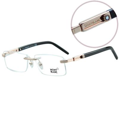 萬寶龍MONTBLANC-時尚光學眼鏡(共<b>3</b>色)MB398