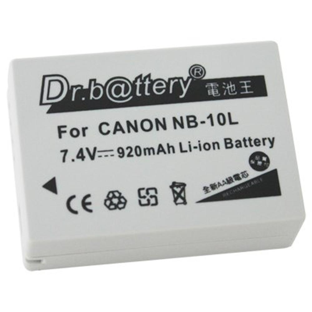 電池王 For Canon NB-10L / NB10L 高容量鋰電池