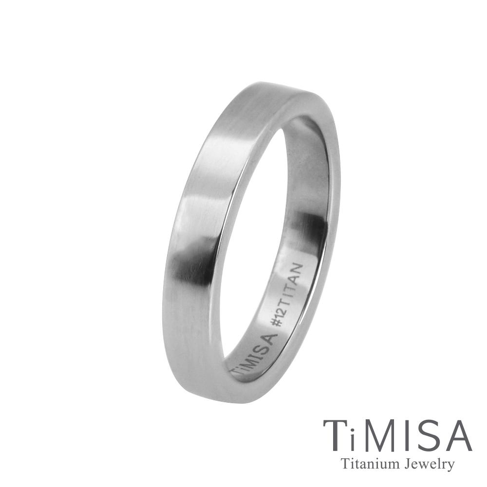 TiMISA 簡約 純鈦戒指