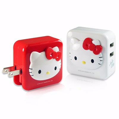 Hello Kitty iChargerII AC 轉 USB 充電器 (KT-CR 02 )