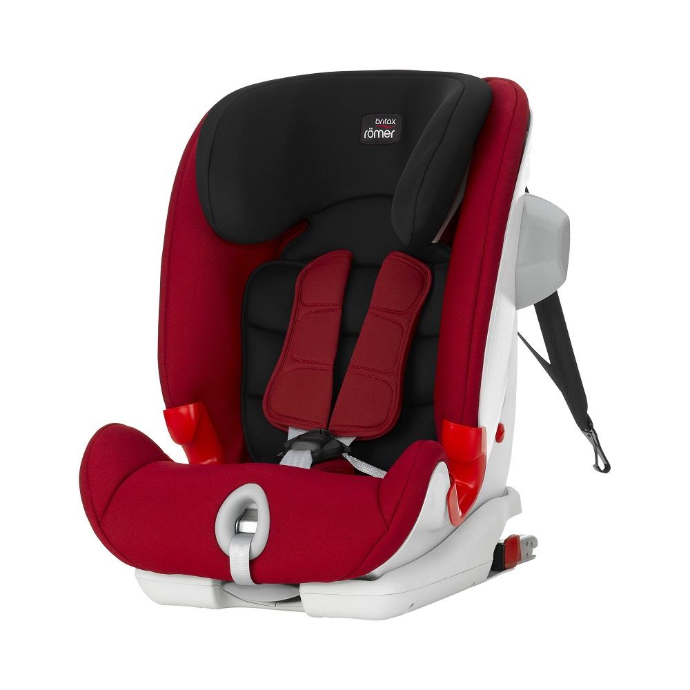 Britax 1-12歲 ISOFIX 成長型汽車安全座椅 (百變旗艦系列-黑紅)