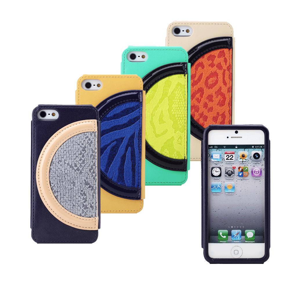 8thdays APPLE iPhone5/5S/SE 月色狂野皮套