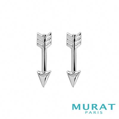 MURAT Paris米哈巴黎 時尚銀箭耳環