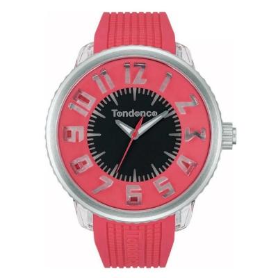 Tendence 天勢錶 Flash閃光系列-紅/50mm